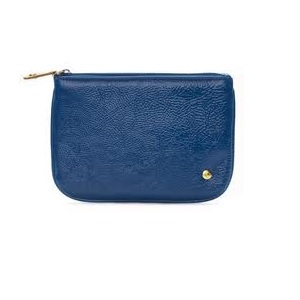 makeup bags royal blue medium flat pouch category makeup price  33 00 ...